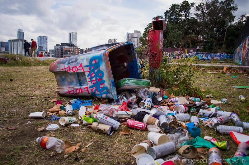 Trash HOPE Outdoor Gallery