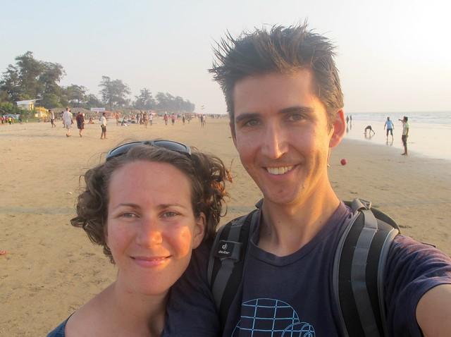 India - Arambol Emily and chris