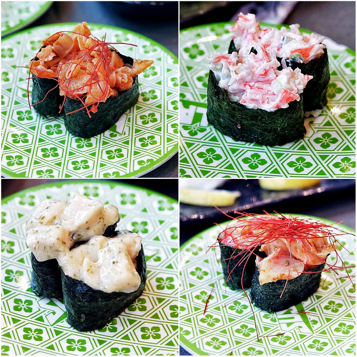 Sushi train order
