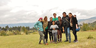 Intrepid Horse Riders and Peruvian Family