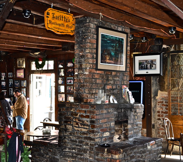 Lafitte's Blacksmith Shop Bar - Oldest bar in New Orleans