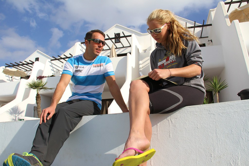 Interview with Bob de Wolf, Team Manager of UPlaceBMC Triathlon Team at Sands Beach Active, Lanzarote
