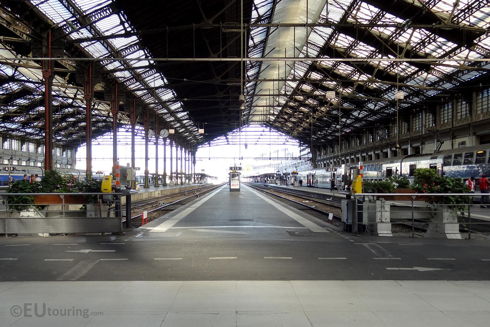Gare de Lyon platforms