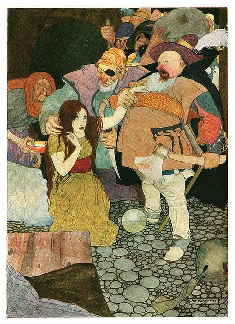 005-Grimm's Fairytale Treasure-1923- Illust. Gustaf Tenggren-via Animation Resources