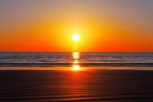 sunset sea sun beach horizon pacificocean