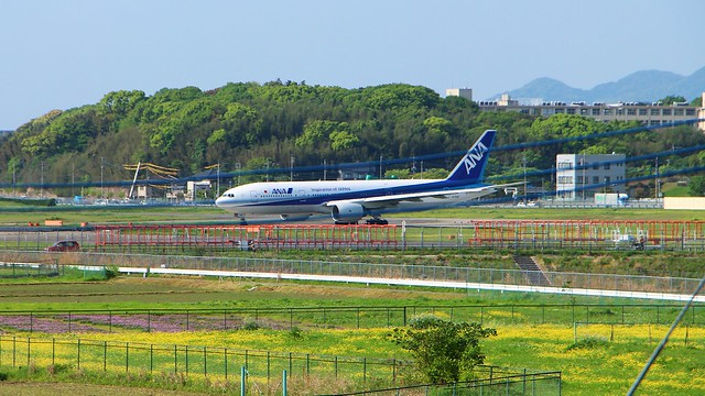 Planes at Fukuoka Airport