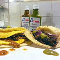 Slinging tacos for din din . . #texas #texasbutter…