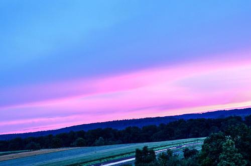 blue sunrise nikon velvet samt blauer d5100