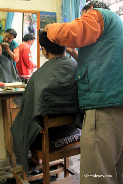 Dhulikhel Nepal Barber Shop