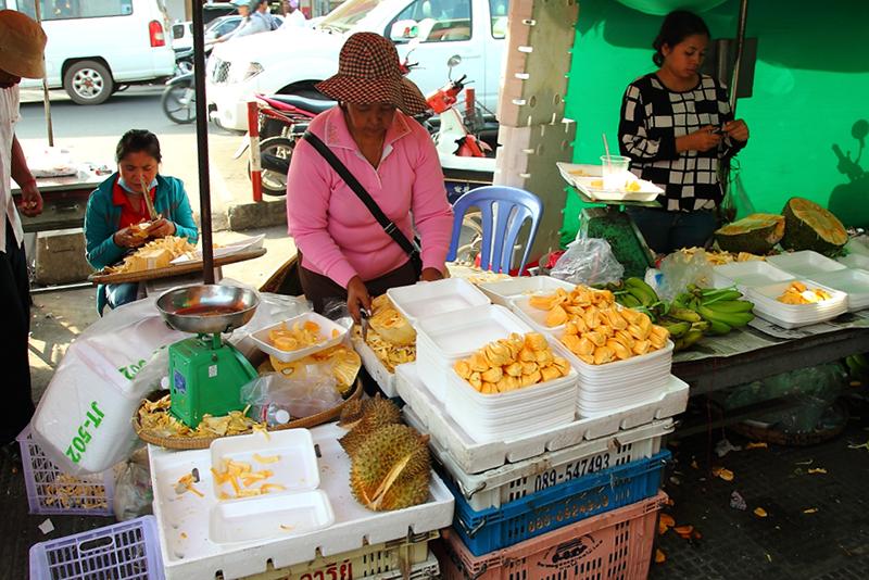 Jackfruit-Stall