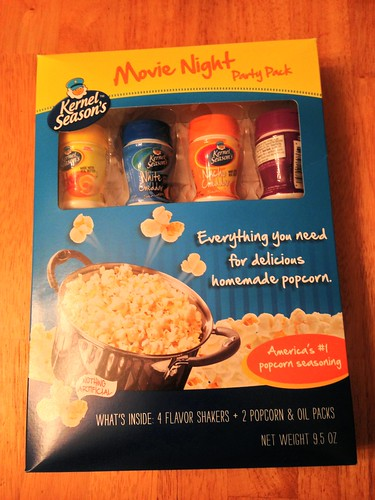 Holiday Gift Guide: Family Movie Night with Kernel Seasons Popcorn- Review and Giveaway!