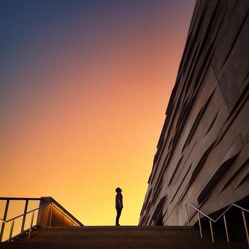 sunset portrait dallasmuseumofart dallas 2014 downtowndallas dallasskyline dallassunset lowlightportrait perotmuseum