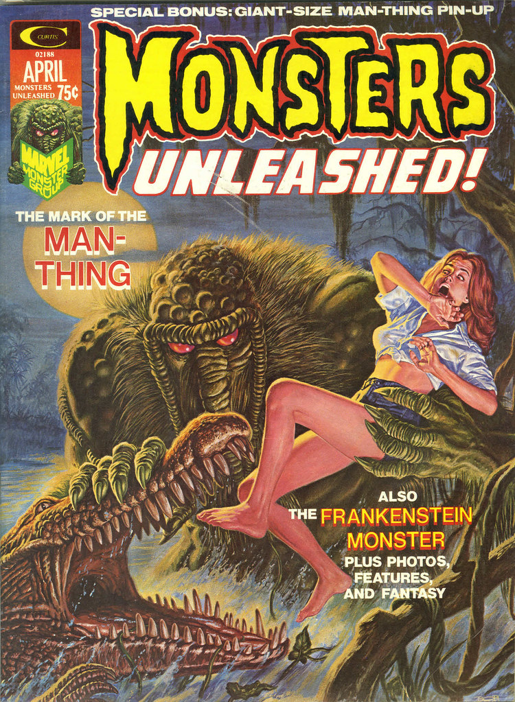 Bob Larkin - Monsters Unleashed #5 (Marvel, 1974)