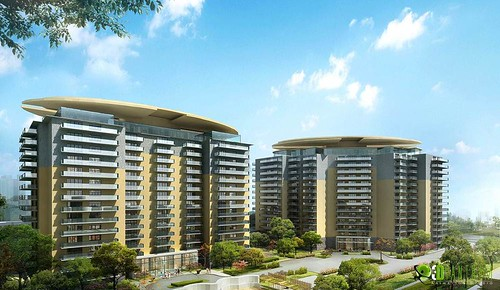 Commercial Building Exterior Modeling Design