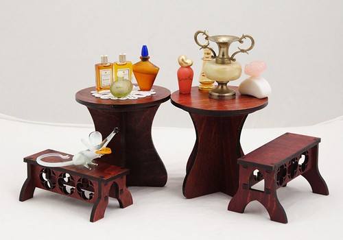 Tea table model 01