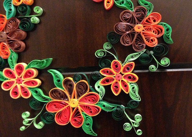 quilled wreath6