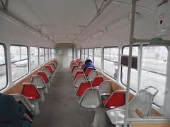 Samara interior tram Tatra T3SU double-door after overhaul