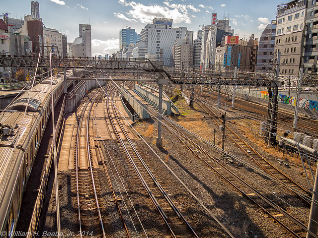 ikebukuro station train yards