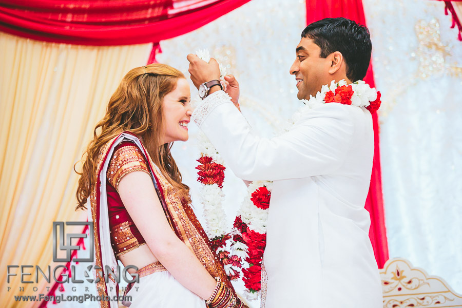 Atlanta Indian Fusion Wedding at BAPS Shri Mandir