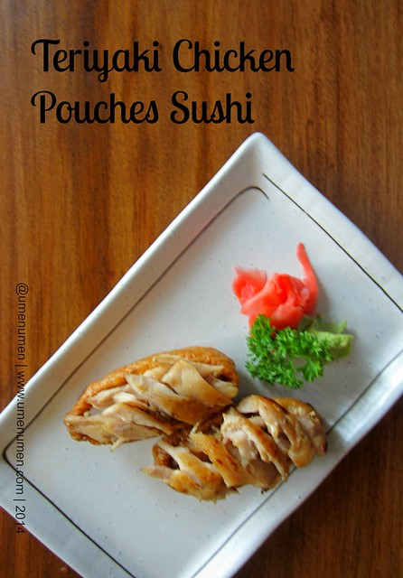 Teriyaki Chicken Pouches  Sushi