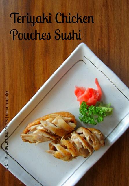 Teriyaki Chicken Pouches  Sushi