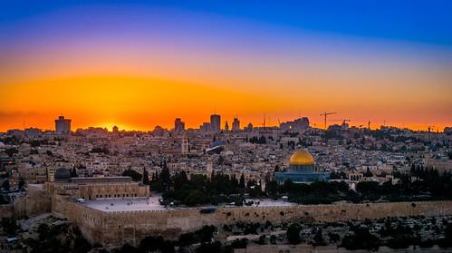 sunset israel jerusalem domeoftherock nex6