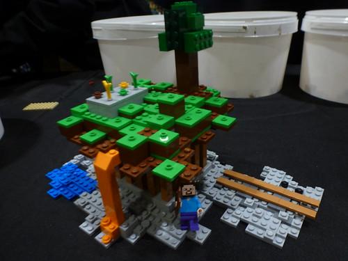My LEGO Minecraft Terrain