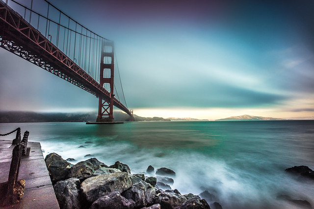 The golden gate bridge, San Francisco, California, United States