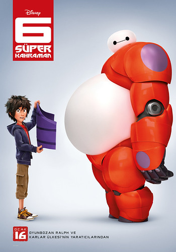6 Süper Kahraman - Big Hero 6 (2015)