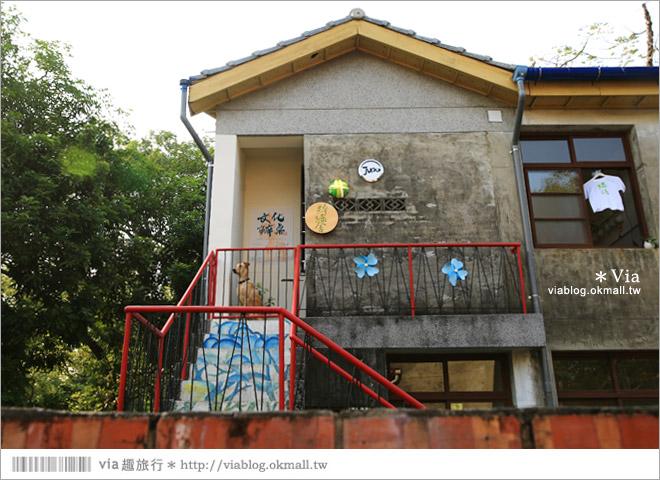 【台中霧峰景點】台中光復新村~可愛的造型椅林立、讓老眷村重新充滿新活力!16