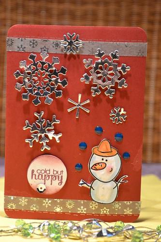 Erste Weihnachtskarte