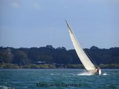 Sailing Russell Island to Stradbroke Island