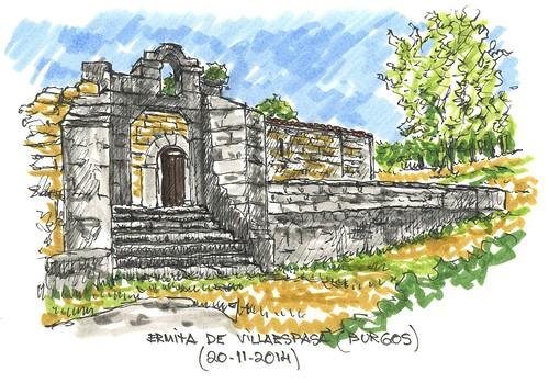 Ermita de Valpeñoso en Jaramillo Quemado (Burgos)