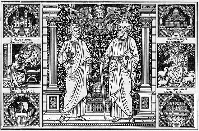1-Petrus und Paulus