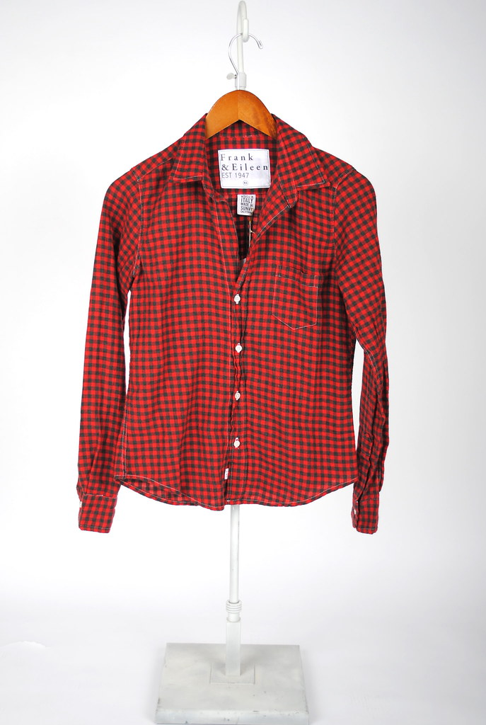 Barry Shirt - Red and Black Flannel