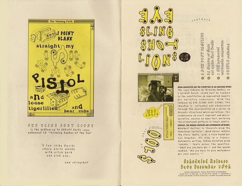 The Pitch (catalog inside spread) by Elliott Earls