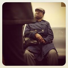 Thursday night 4 train. #nycsubwayportraits #nyc #train #subway #publictransportation #commute #Brooklyn #4train