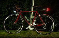 Red Retro Rocket in Commute Mode