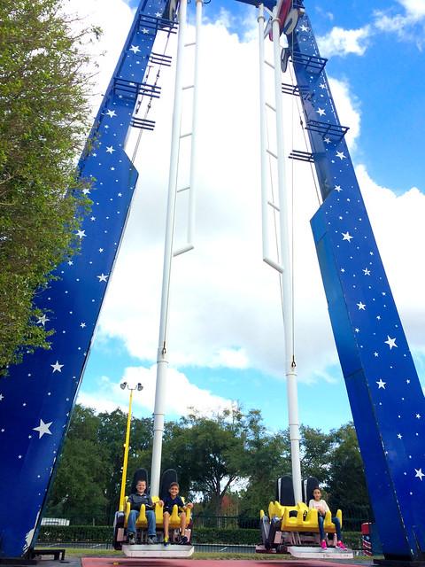 Hot Seat Thrill Ride at Fun Spot America in Kissimmee, FL