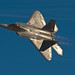 F22 Raptor banking turn