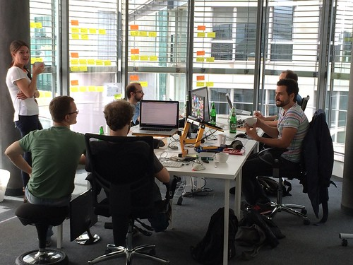 Team at the Office