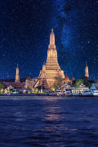 Watching Wat Arun