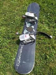 Snowboard ve výborném stavu - titulní fotka