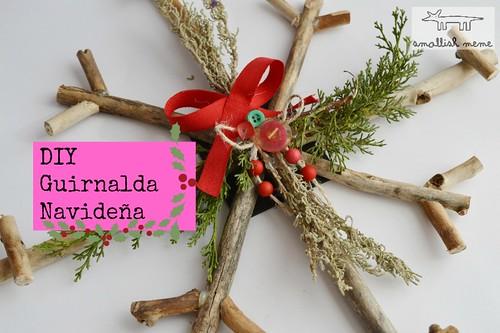DIY Guirnalda Navideña