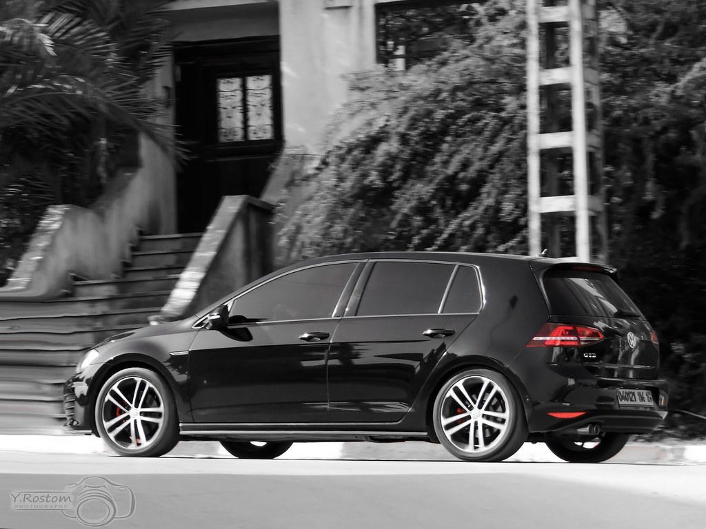 golf 7 gtd black rostom rstm flickr. Black Bedroom Furniture Sets. Home Design Ideas