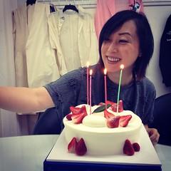 Birthday selfie for Suk @schaibyschai