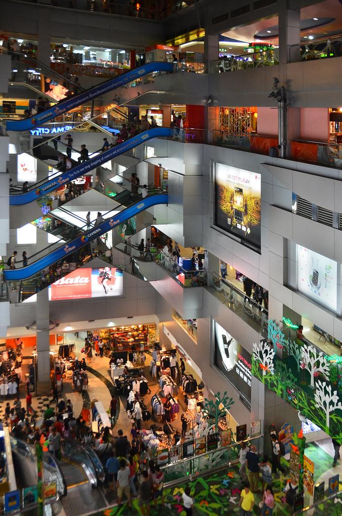 Centro comercial MBK Center, el mejor para comprar en Bangkok