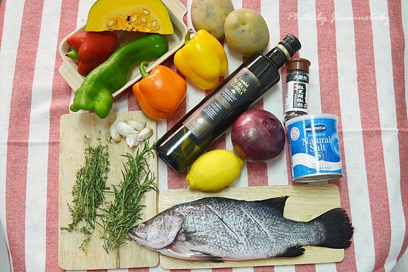 廚房筆記】地中海香料烤魚│作法簡單、內容豐富 ...