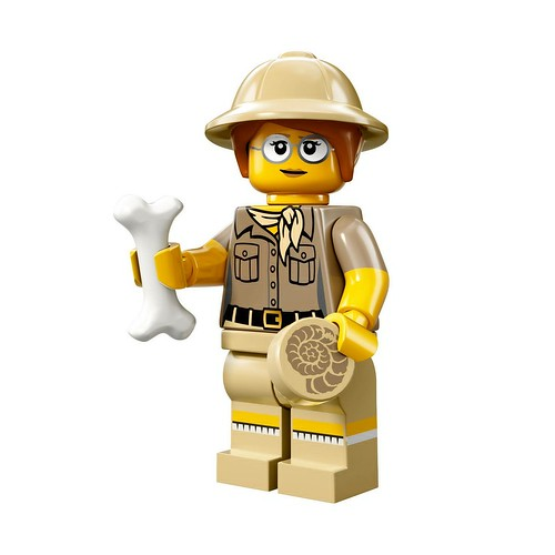 71008 Collectable Minifigures Series 13 Paleontologist