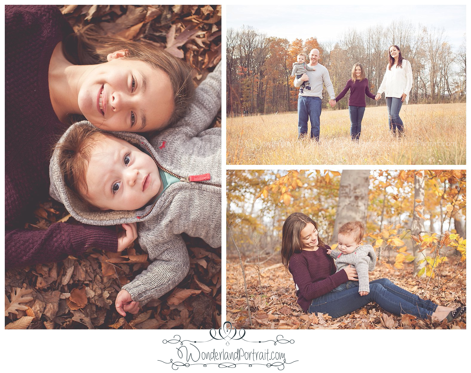 Bucks County PA Family Photographer- WonderlandPortrait.com